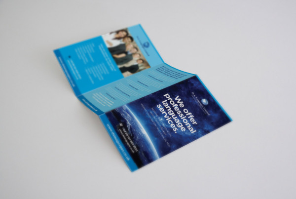 Small Business Trifold Flyer Design