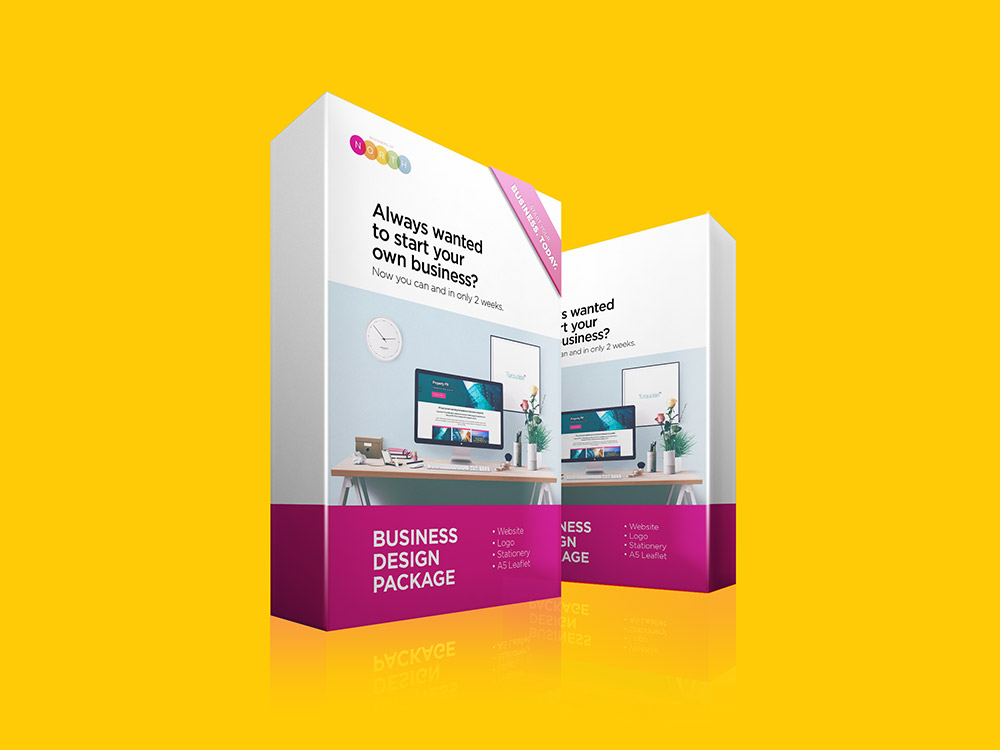 Business Design Package Box