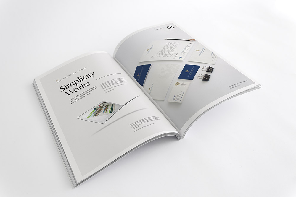 brochure design for creative business