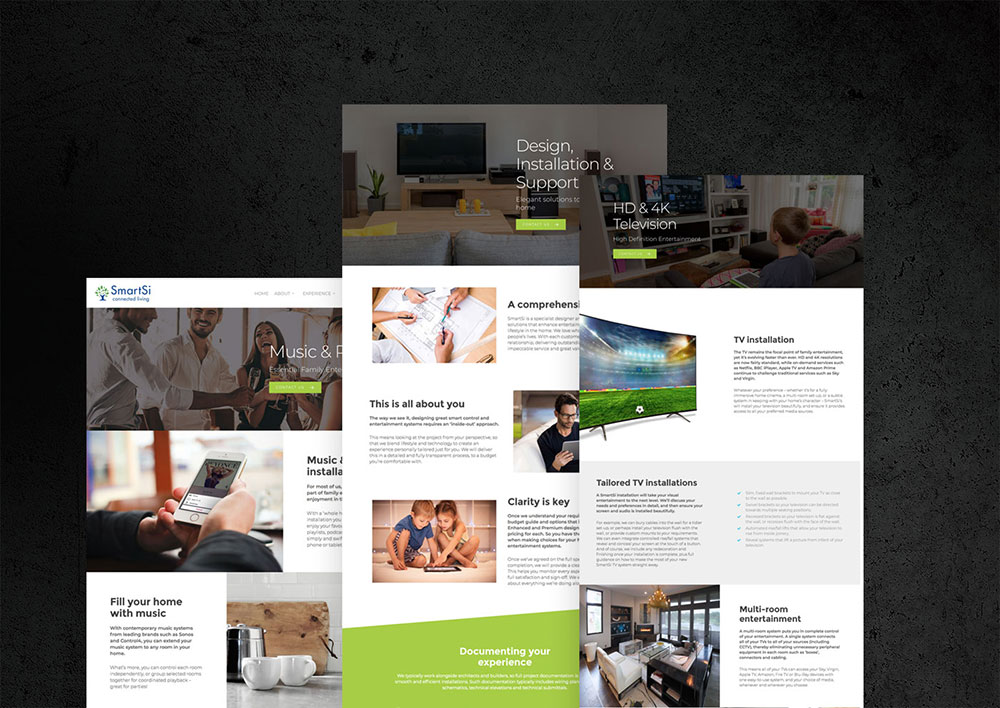 web design project examples