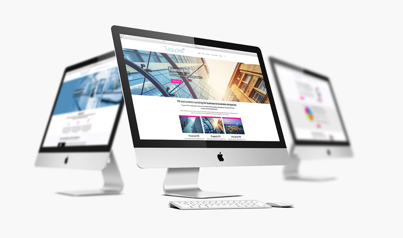 PR Company Wordpress Website