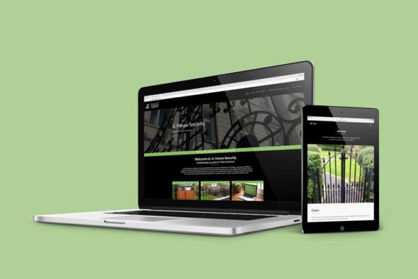 Wrought Iron Specialists Website Design