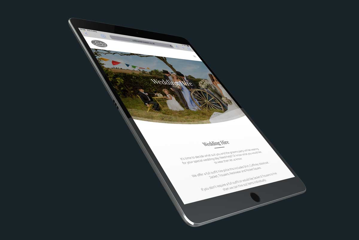 Brochure Website Design Cornwall