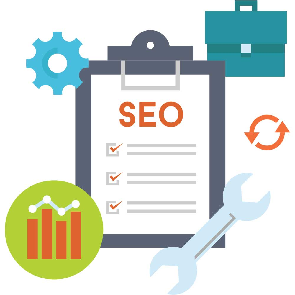 SEO Site Audit - Checklist Illustration